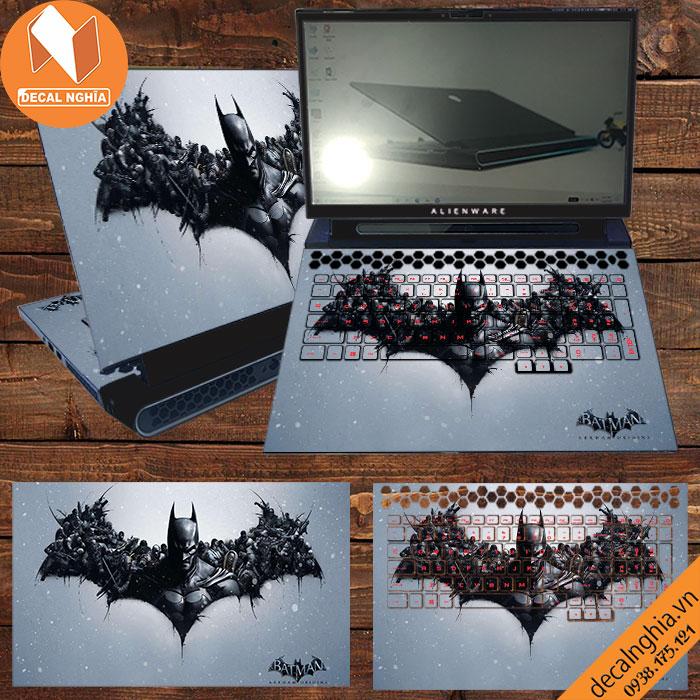 Aluminum Skin dán Laptop Alienware M17R4