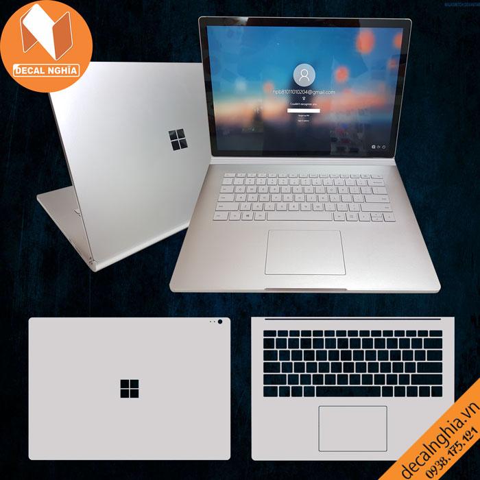 Aluminum dán Surface Book 3 15 inch