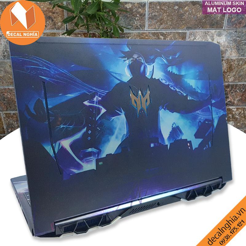 Aluminum skin dán laptop Acer Predator Helios 300 PH315-52 2020