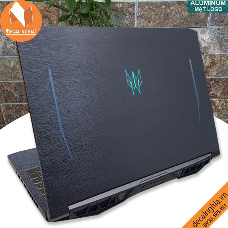 Aluminum dán laptop Acer Predator Helios 300 PH315-52 2020