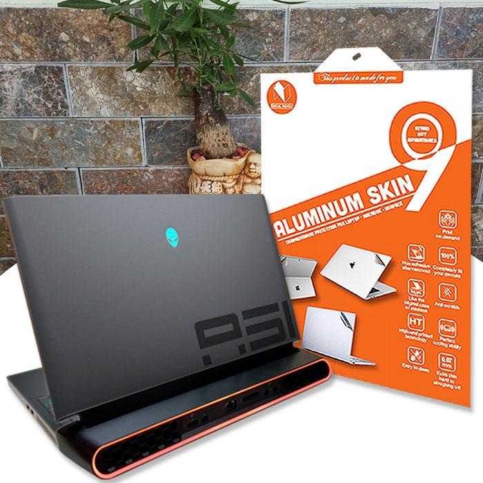Aluminum dán Laptop Alienware Area 51M R2