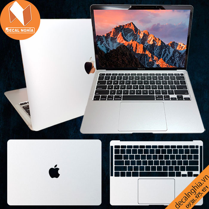 Aluminum dán Macbook Air M1