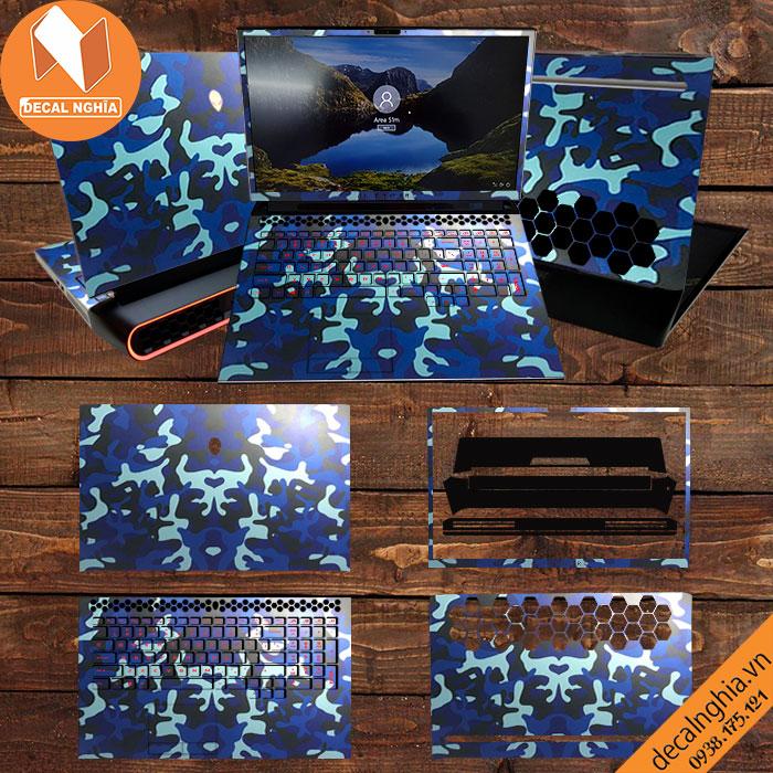 Aluminum Skin dán Laptop Alienware Area 51M R2