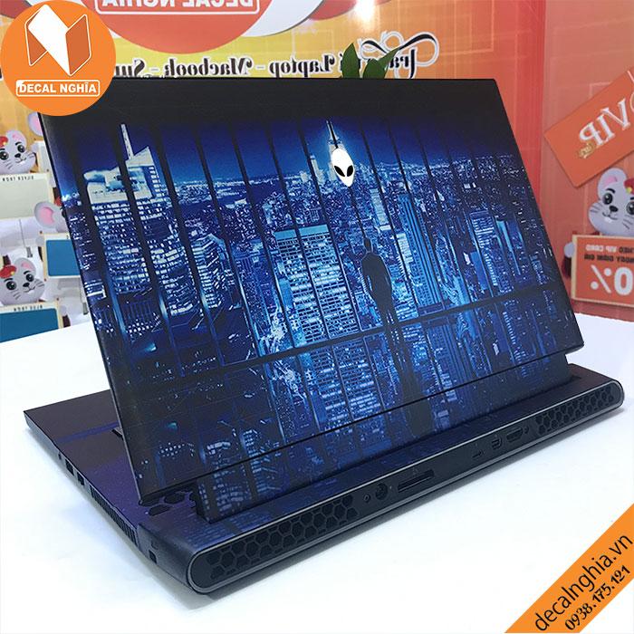 Aluminum Skin dán Laptop Alienware M15R3