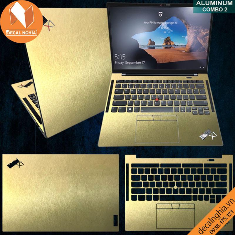 Dán skin laptop Lenovo ThinkPad X1 Carbon Gen 9