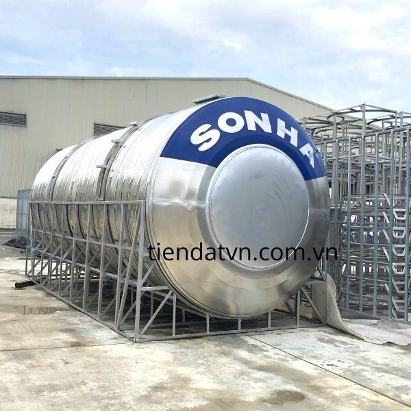 Bồn nước công nghiệp Sơn Hà 15000L nằm