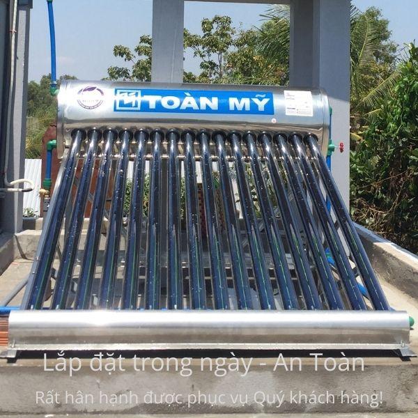 Máy nước nóng năng lượng mặt trời Toàn Mỹ Nano 240L