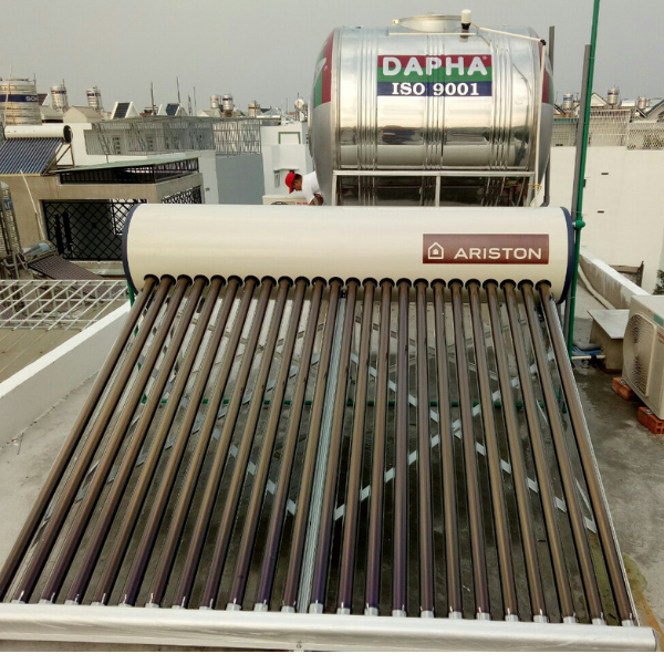 Máy nước nóng năng lượng mặt trời Ariston 250L-F58