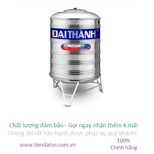 Bồn nước inox Đại Thành 4000L Đứng