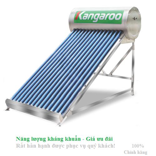 Máy nước nóng năng lượng mặt trời Kangaroo DI 200L