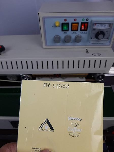 Khám phá các tính năng nổi bật nhất của máy hàn miệng túi liên tục có in date FRM 980 A