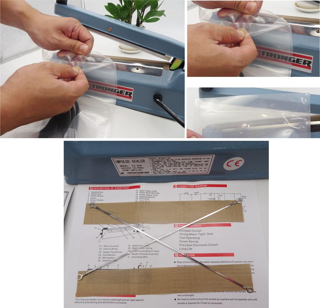 Hướng dẫn cách sử dụng máy hàn miệng túi mini hiệu quả nhất