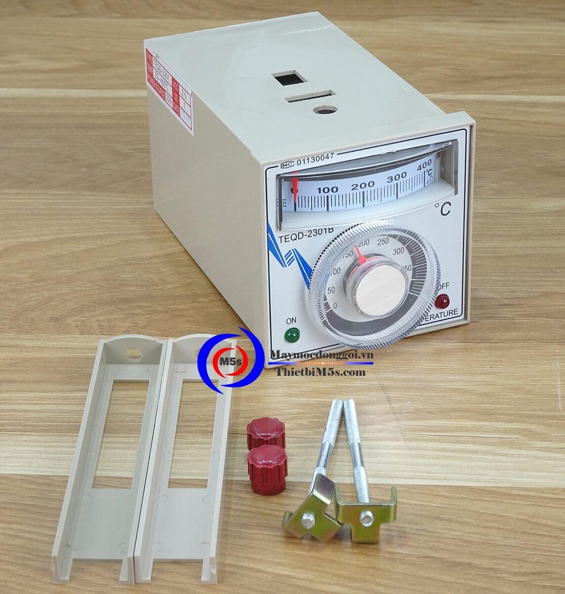 Đồng hồ gia nhiệt & Cây điện trở máy hàn miệng túi liên tục