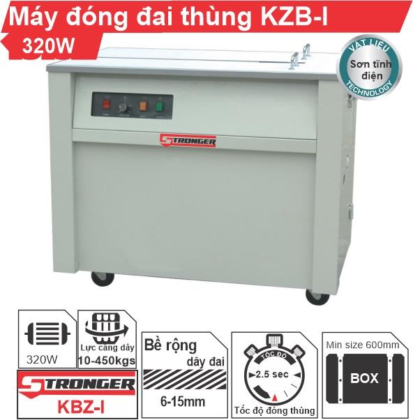 Máy đóng đai thùng bán tự động KZB-1 giá rẻ, HOT nhất 2020