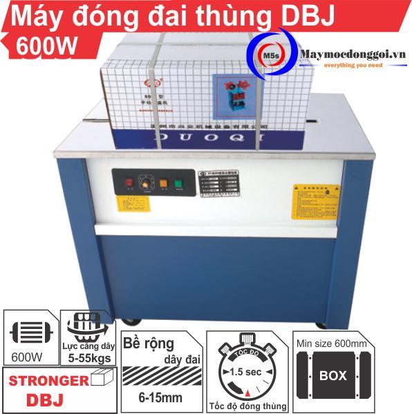 Máy đóng đai thùng bán tự động DBJ - Liên hệ ngay để được tư vấn!