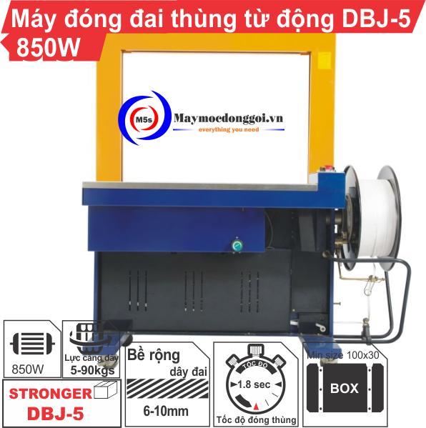 Máy đóng đai thùng tự động DBJ-5 - Liên hệ ngay để được tư vấn!