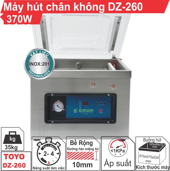 Máy hút chân không công nghiệp DZ-260 370W