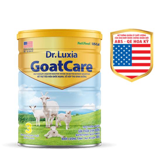 Sữa Dr- Luxia Goatcare 3- Hổ trợ tiêu hóa khỏe mạnh