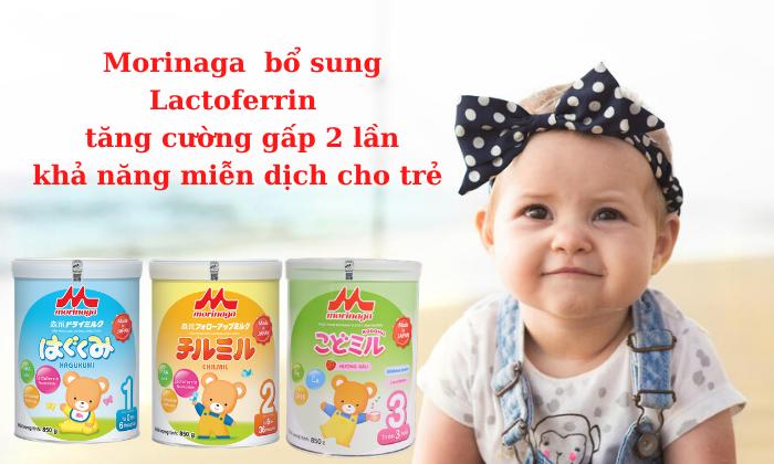 CTKM ĐẶC BIỆT Sữa Morinaga T07-2021