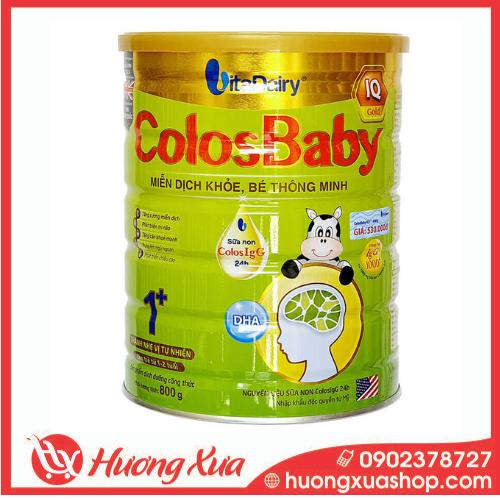 Sữa Colosbaby IQ Gold 1+ - Miễn dịch khỏe, bé thông minh