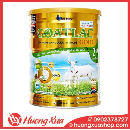 Sữa Dê GOATLAC Gold 2+ - Mát lành bổ dưỡng, tiêu hóa vượt trội