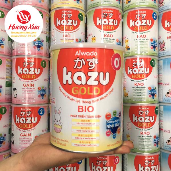 Sữa Kazu Bio 0+ Tiêu Hóa Thuận Lợi , Thông Minh Nhanh Nhẹn