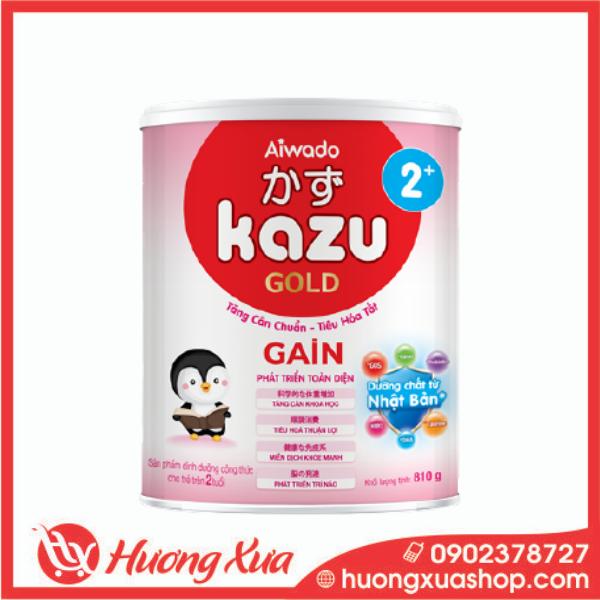 Sữa Kazu Gain 2+ Tăng cân Chuẩn ,Tiêu Hóa Tốt