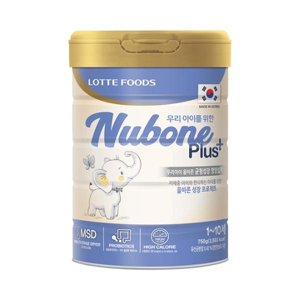 NUBONE PLUS+ (từ 1-10 tuổi) - biếng ăn, chậm tăng cân, suy dinh dưỡng