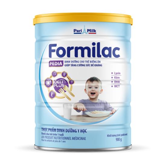 Formilac Pedia - Dinh dưỡng cho trẻ biếng ăn,  tăng cường sức đề khán