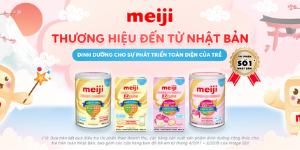 Ưu đãi lớn trên Hương Xưa Shop Khi mua Sữa Meiji mẫu mới
