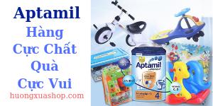 Chương trình khuyến mãi sữa Aptamil