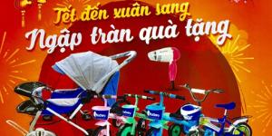 CTKM  TẾT ĐẾN XUÂN SANG - NGẬP TRÀN QUÀ TẶNG   Từ 01/01/2020 đến 31/03/2020