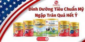 """Sữa Dr - Luxia Khuyến Mãi """" Mua Sữa Tặng Quà Đặc Biệt """""""