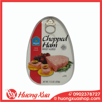 Thịt hộp xắt nhỏ Chopped Ham Bristol 325g