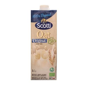 Sữa Yến Mạch Tự Nhiên Hữu Cơ Riso Scotti - Bio Original Oat Drink - 1L