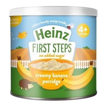 Bột ăn dặm Heinz Ngũ cốc Yến Mạch và Chuối 4+