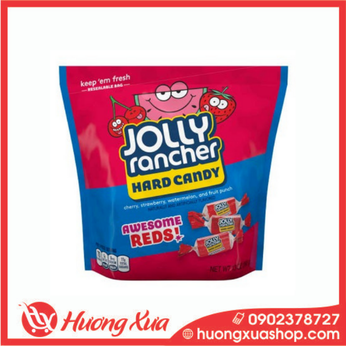 Kẹo Jolly Rancher Hard Candy Awesome Reds 368g
