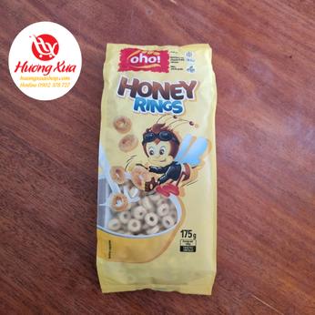 Ngũ cốc nguyên hạt Oho Honey Rings gói 175g