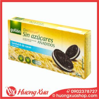 Bánh quy Gullon ăn kiêng không đường Sandwich de Cacao 210g