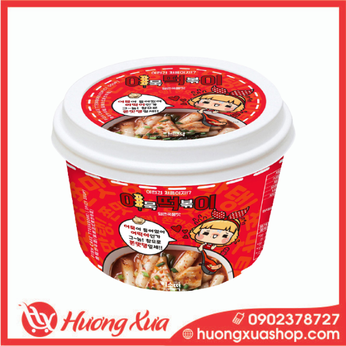 Bánh gạo chả cá vị cay Fish Cake Tteokbokki ( Spicy Soup ) hộp 148gr