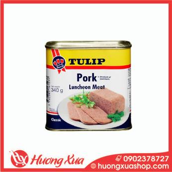 Thịt heo hộp Tulip Pork Luncheon Meat 340g