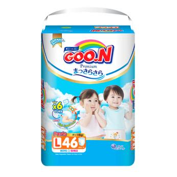 Tã quần GOO.N Premium cho trẻ từ 9-14kg size L (46 miếng)