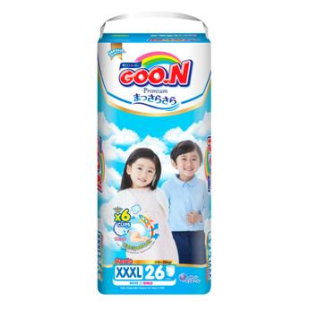 Tã quần GOO.N Premium cho trẻ từ 18-30kg size XXXL (26 miếng)