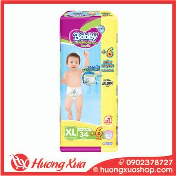 Tã quần Bobby  Trung XL (34 miếng)