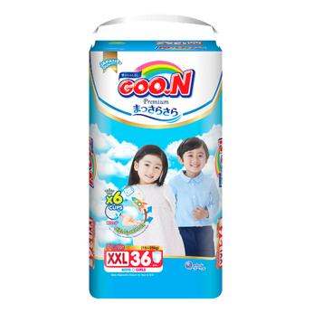 Tã quần GOO.N Premium cho trẻ từ 15-25kg size XXL (36 miếng)