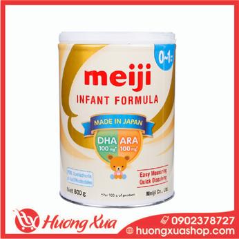 Sữa Meiji Infant Formula 800g cho bé 0-12 tháng tuổi