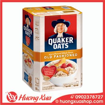 Yến Mạch Nguyên Hạt Nhập Từ Mỹ - Quaker Oats Old Fashioned 4,53kg