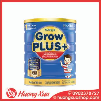 Sữa GrowPlus+ xanh - giúp trẻ biếng ăn tăng cân khỏe mạnh 1,5kg