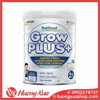 Sữa Grow Plus + lon thiếc 850G