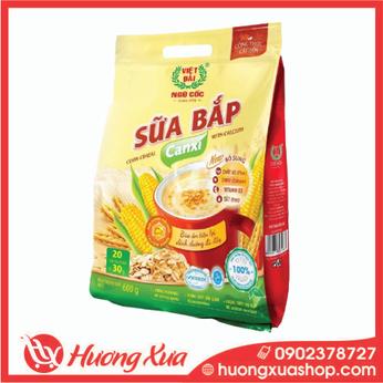 Sữa Bắp Canxi Việt Đài 600gr ( 20gói x 30gr)
